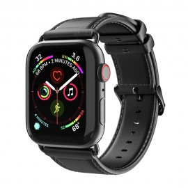 Köp Dux Ducis Läderarmband Apple Watch 38/40mm Svart Online Idag - Techhuset.se - Techhuset