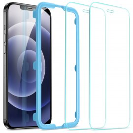 ESR Full-Coverage Screen Protector iPhone 12/12 Pro 2 Pack - Techhuset.se