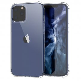 LEEU DESIGN Air TPU Skal iPhone 12/12 Pro Transparent - Techhuset.se