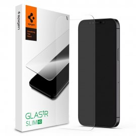 Spigen Screen Protector iPhone 12 Pro Max GLAS.tR SLIM HD - Techhuset.se