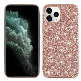 Glitterskal iPhone 12 Pro Max Rose Guld - Techhuset.se