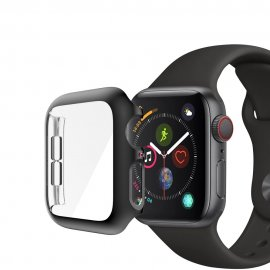 Techhuset Heltäckande Skal Apple Watch 44mm Svart Ram bild 1