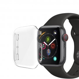Techhuset Heltäckande Skal Apple Watch 44mm Transparent Bild 1