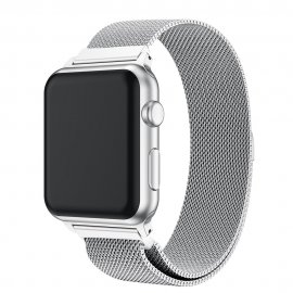 Milanese Loop Armband Apple Watch 38/40mm Silver - Techhuset.se