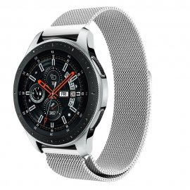Milanese Loop Armband Samsung Galaxy Watch 46mm Silver - Techhuset.se