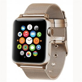 Milanese Mesh Bracelet Apple Watch 38/40mm Gold - Techhuset.se