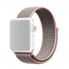 Nylonarmband Apple Watch 38/40mm Mörk Rosa - Techhuset.se
