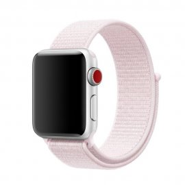 Nylonarmband Apple Watch 38/40mm Rosa - Techhuset.se