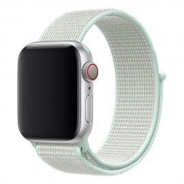 Nylonarmband Apple Watch 42/44mm Vit - Techhuset.se