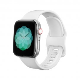 Köp Silikonarmband Till Apple Watch 38/40mm Vit Online Idag - Techhuset.se - Techhuset