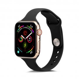 Köp Soft Silikonarmband Apple Watch 42/44mm Svart Online Idag - Techhuset.se