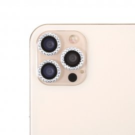 Ultra Clear Rhinestone Linsskydd iPhone 11 Pro Max/11 Pro/12 Pro - Techhuset.se