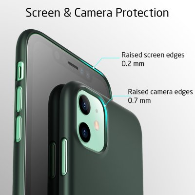 ESR Appro Slim Skal iPhone 11 Grön bild 7