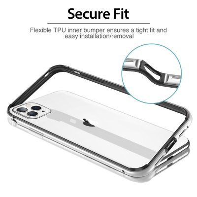 ESR Edge Guard Skal iPhone 11 Pro Max Silver bild 5