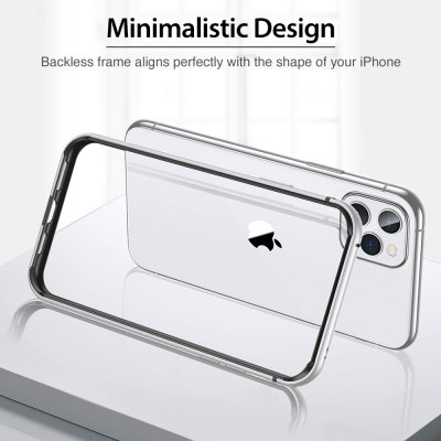 ESR Edge Guard Skal iPhone 11 Pro Max Silver bild 7