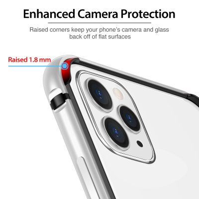ESR Edge Guard Skal iPhone 11 Pro Max Silver bild 9