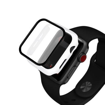 Köp HAT PRINCE Glasskydd Skal Apple Watch 4/5 (40mm) Vit Online Idag - Techhuset.se 2