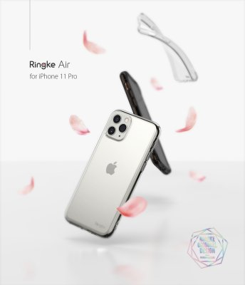 Ringke Air Skal iPhone 11 Pro Max Clear bild 6