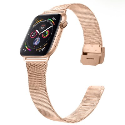 Techhuset Armband Milanese Mesh Apple Watch 42mm Rose Guld Bild 2