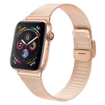 Techhuset Armband Milanese Mesh Apple Watch 42mm Rose Guld Bild 1