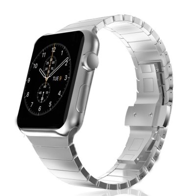 Länkarmband Apple Watch 42/44mm Silver - Techhuset.se