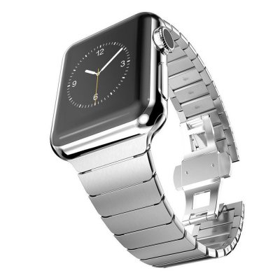 Techhuset Länkarmband Apple Watch 42mm/44mm Silver Bild 2