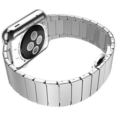 Techhuset Länkarmband Apple Watch 42mm/44mm Silver Bild 3