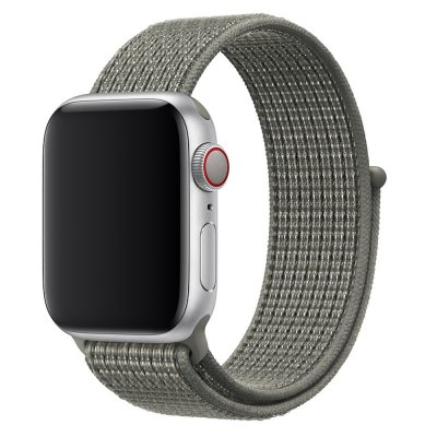 Nylonarmband Apple Watch 42/44mm Grå - Techhuset.se