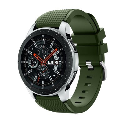 Techhuset Silikonarmband Samsung Galaxy Watch 46mm Grön Bild 1