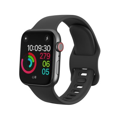 Köp Silikonarmband Till Apple Watch 38/40mm Svart Online Idag - Techhuset.se - Techhuset