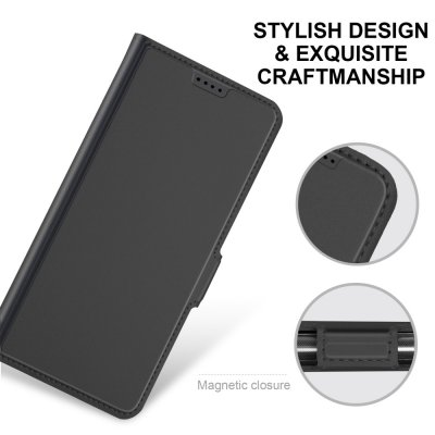 Slim Card Holder iPhone 12 Mini Svart - Techhuset.se