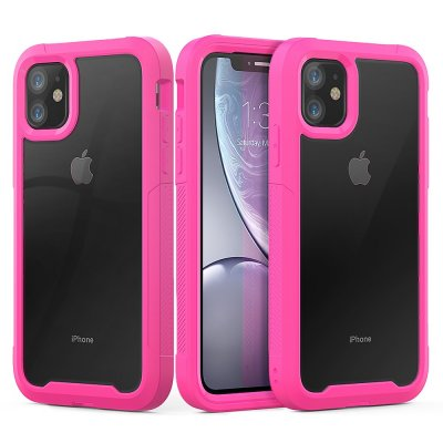 Stöttålig Edge Skal iPhone 11 Rosa - Techhuset.se