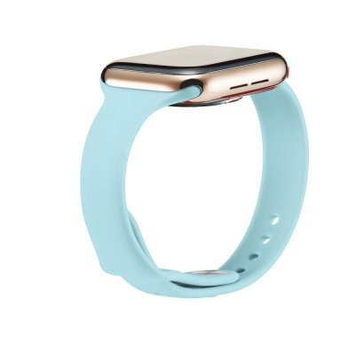 Köp Soft Silikonarmband Apple Watch 42/44mm Blå Online Idag - Techhuset.se - Techhuset 3