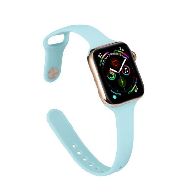 Köp Soft Silikonarmband Apple Watch 42/44mm Blå Online Idag - Techhuset.se - Techhuset 5