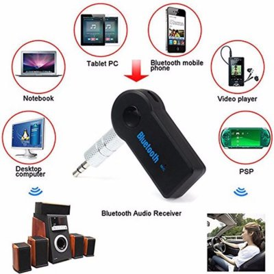 Universal Bluetooth 3.5mm Receiver Adapter
